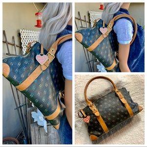 Dooney & Bourke Shoulder BoHo Shoulder Bag Leather